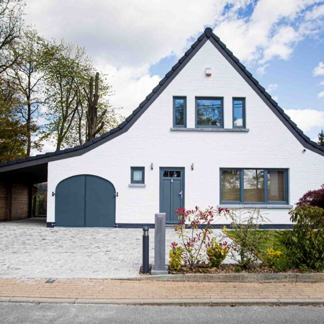 Travaux rénovation façade maison