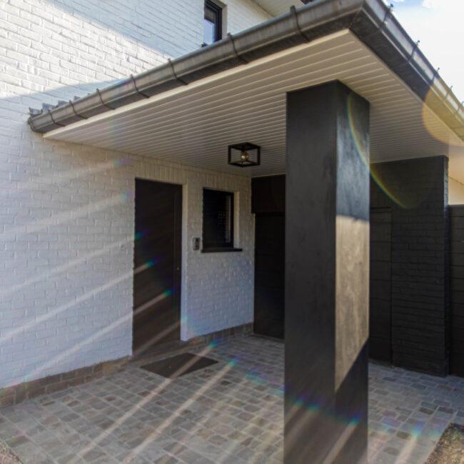 Installation porte extérieure