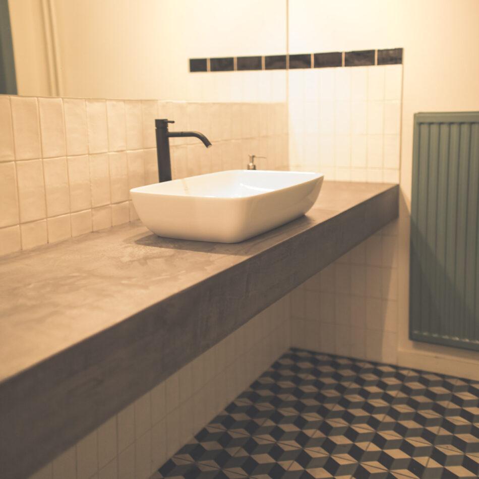 Rénovation toilette restaurant