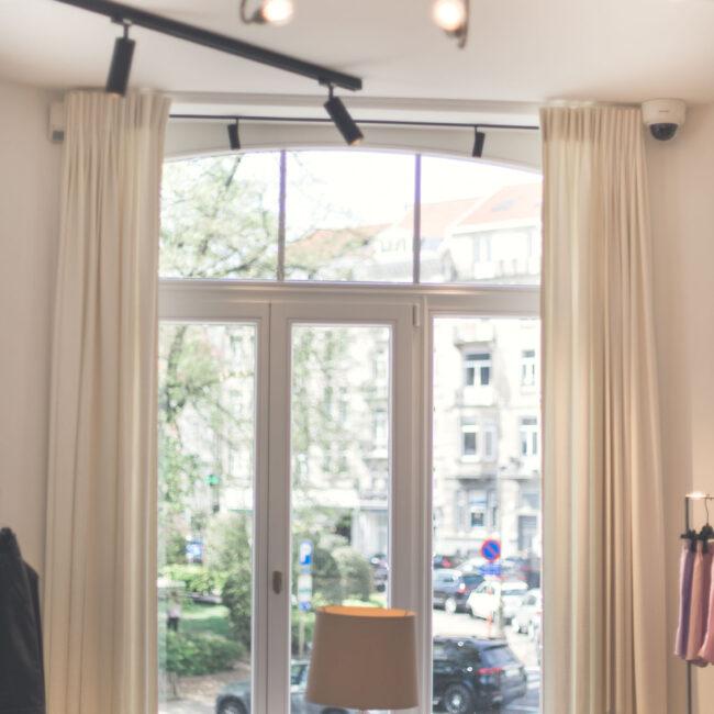Châssis fenêtre installation